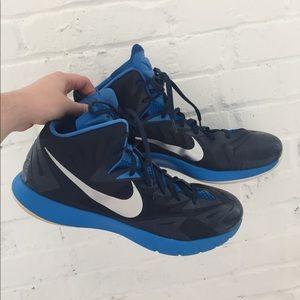 Nike Lunarlon high-tops size 16 basketball shoes